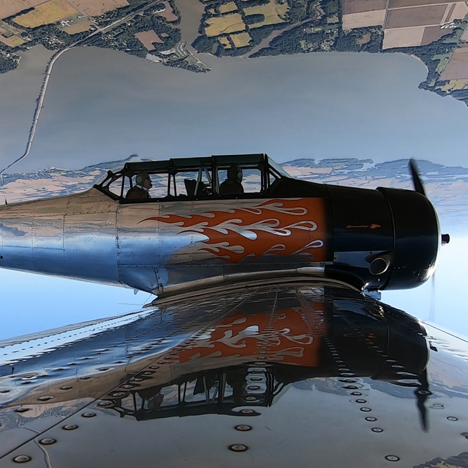 Learn to Fly a T-6 Warbird near St Louis