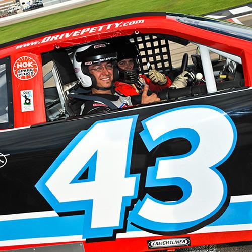 Ride Shotgun in a Real NASCAR