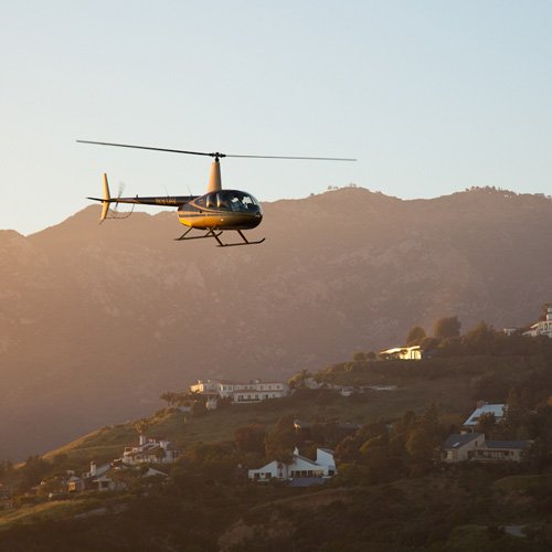 Evening Helicopter Tour in LA