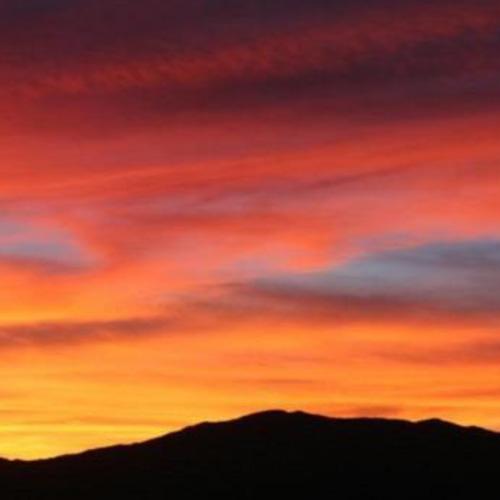 Sunset Flight over Phoenix