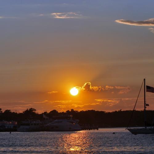 Sunset Cruise near New London
