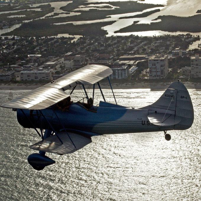 Sunset Biplane Flight in Florida