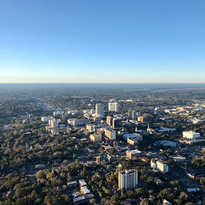 Scenic Helicopter Tour of Tallahassee Florida