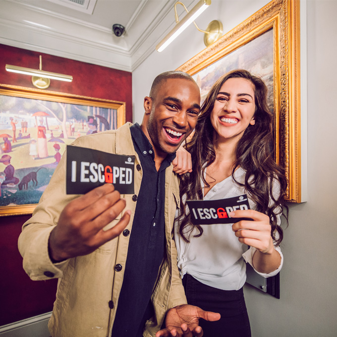The Heist Escape Room in New Orleans