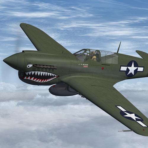 P40 Warhawk Flown By Maj Ray Melikian