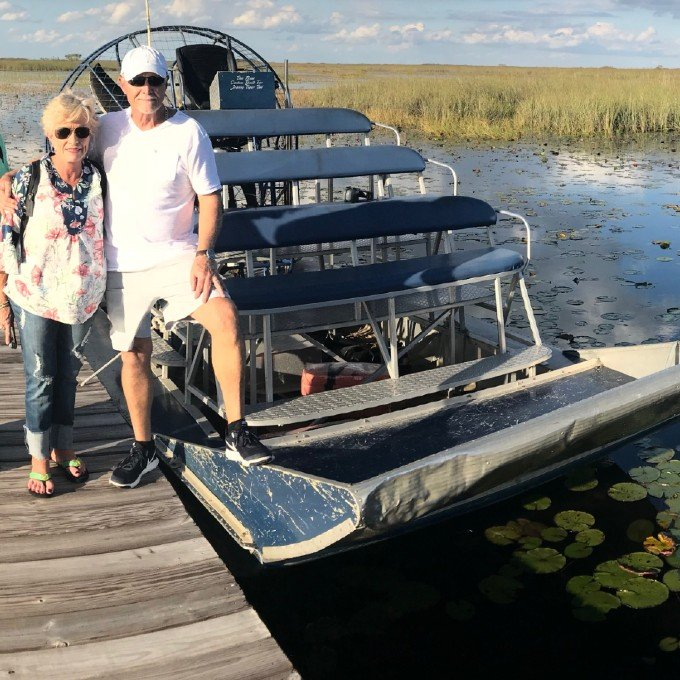 Everglades Airboat Tour near Miami
