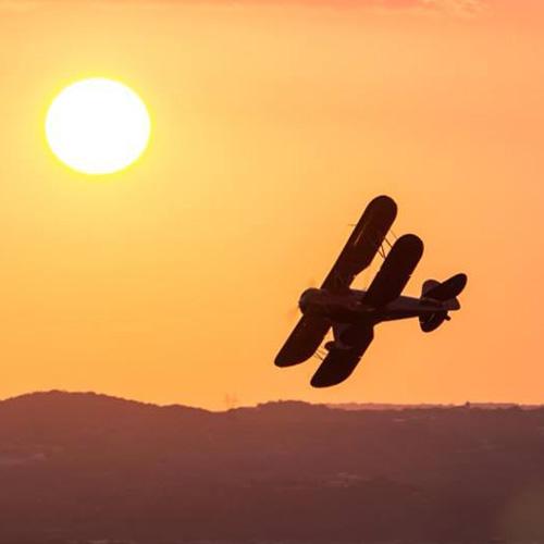 Aerial date night in austin