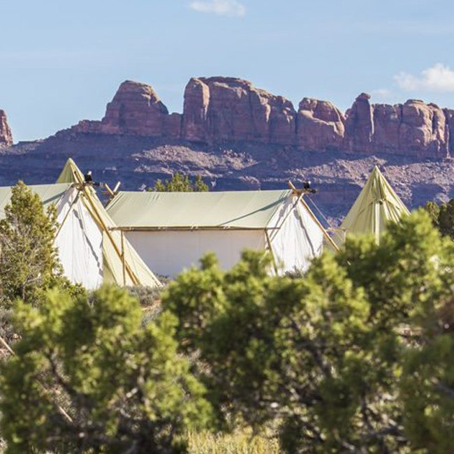 View from Moab Campground