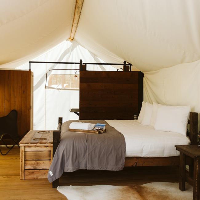 Glamorous Camping in South Dakota