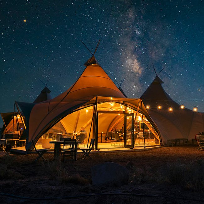 Luxury Campground near Grand Canyon South