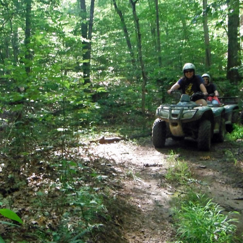 Brown County ATV Tour in Indianapolis