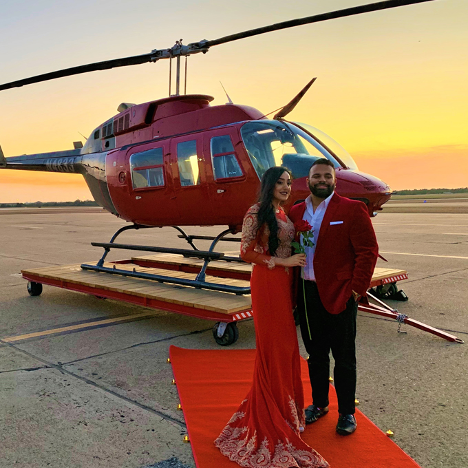 VIP Skyline & Stadium Helicopter Tour for 2 in Dallas