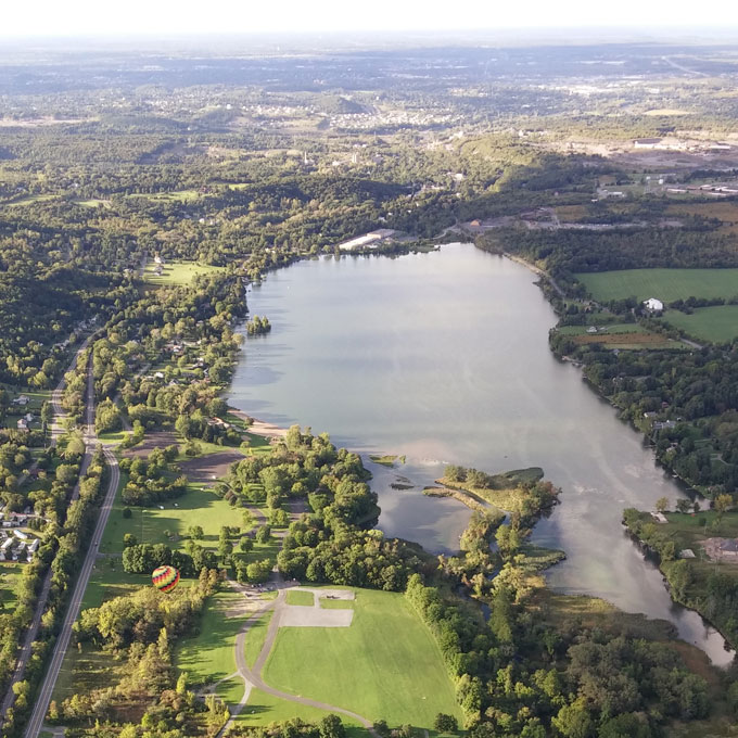 Private Hot Air Balloon Ride For 4 in Syracuse, NY