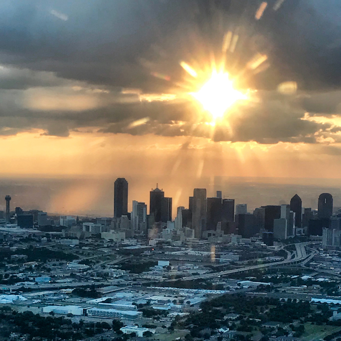 Sunset Helicopter Tour in Dallas, TX