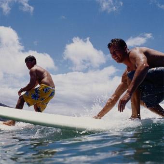 Private Surfing Lesson in Orange County