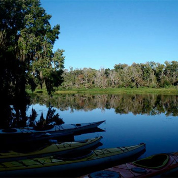 River Kayak Tour near Orlando