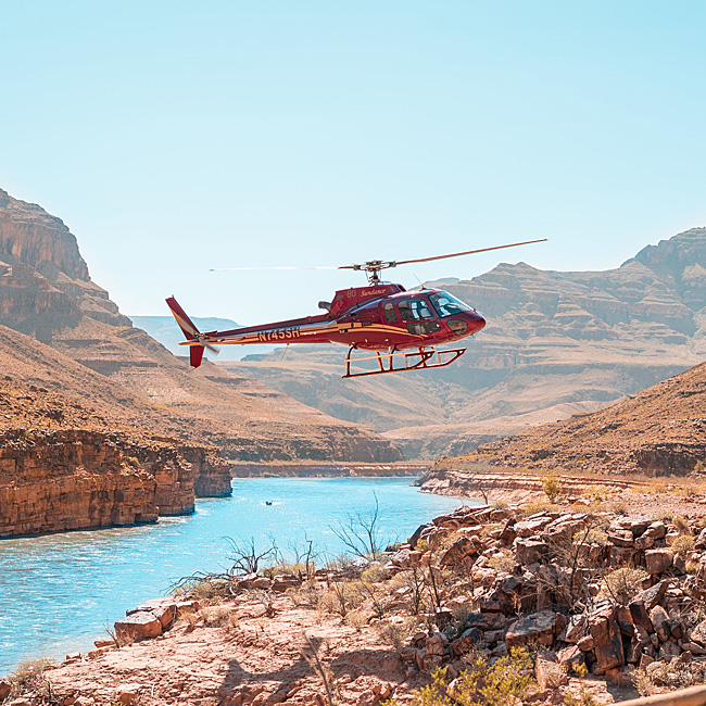 Helicopter Tour of Grand Canyon