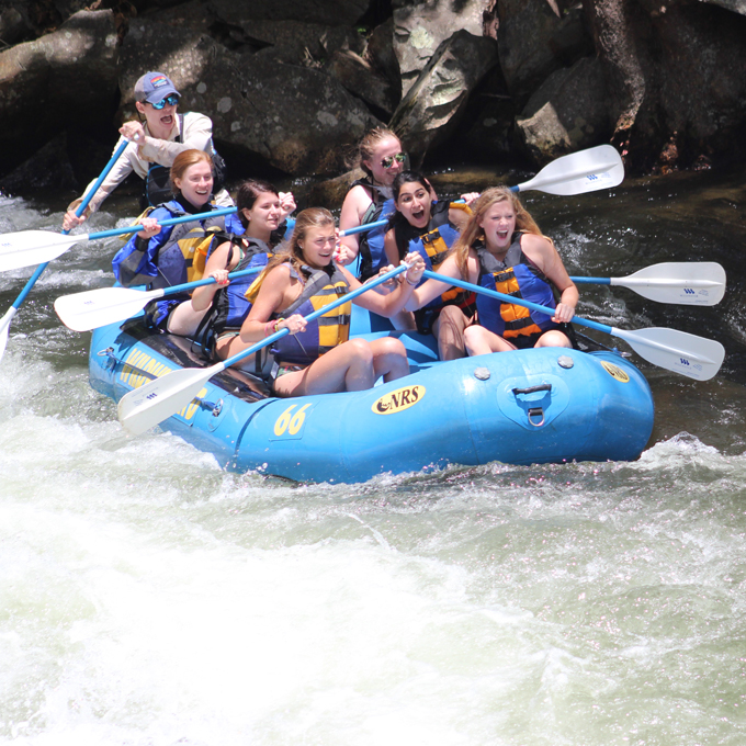 Whitewater Rafting near Bryson City, NC