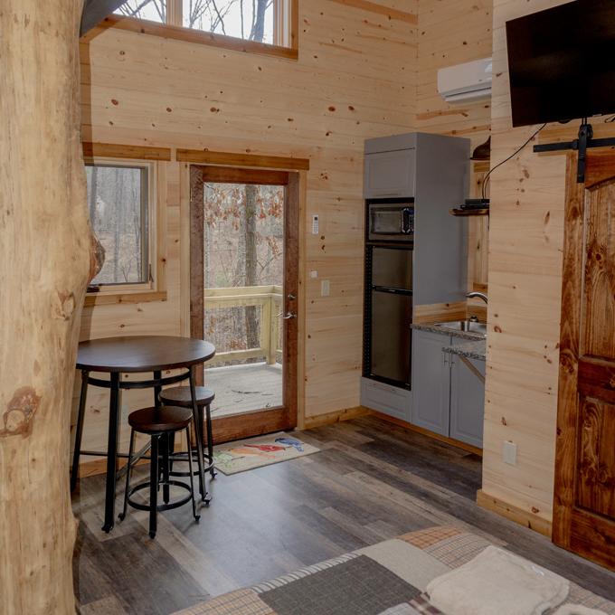 Overnight Treehouse Rental in South Carolina