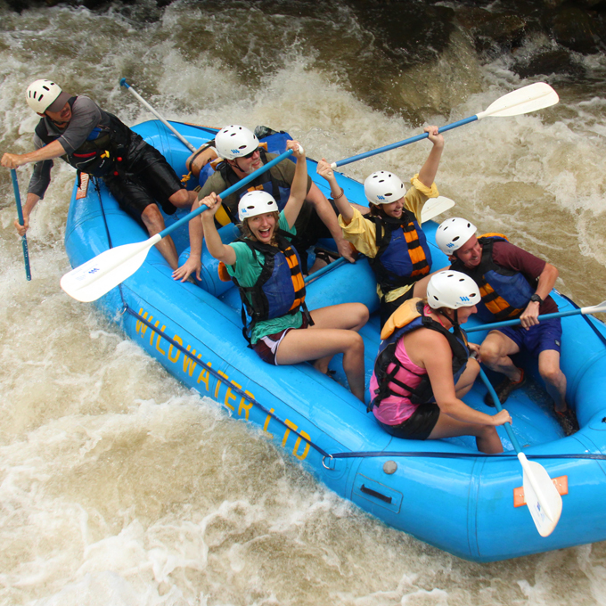 Chattooga River Whitewater Rafting Class IV