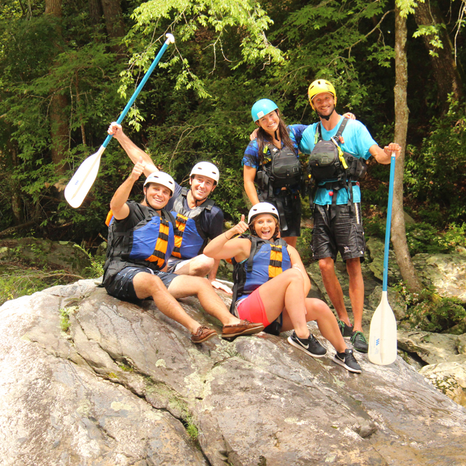Advanced Whitewater Rafting Adventure