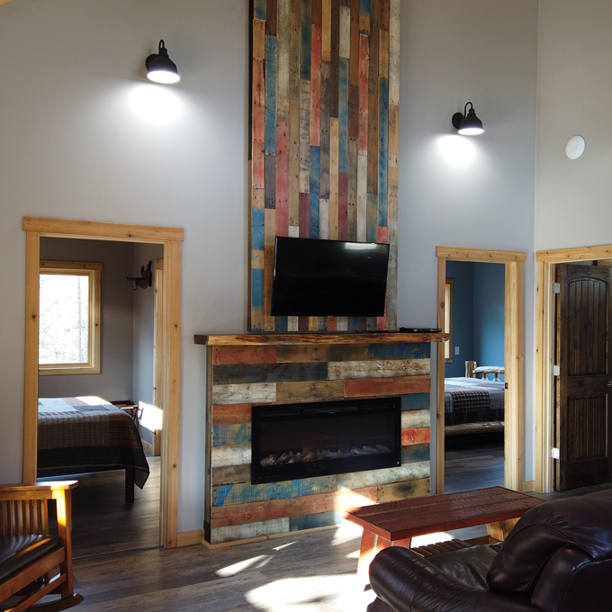 Overnight Cabin Rentals on the Chattooga River in SC & GA