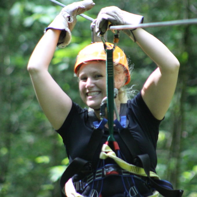 Zipline Canopy Tour in Tennessee