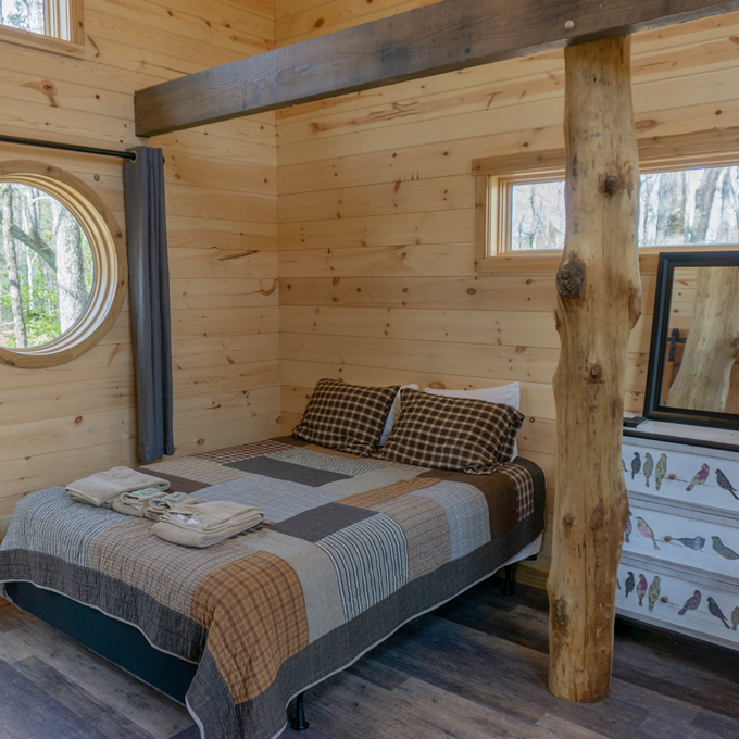 Treehouse Stay near Chattooga River