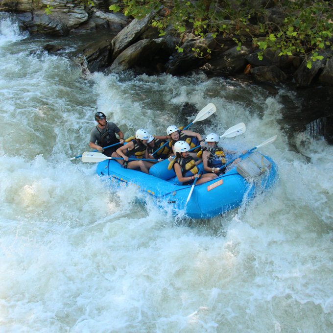 Whitewater Rafting on the Chattooga River in SC & GA