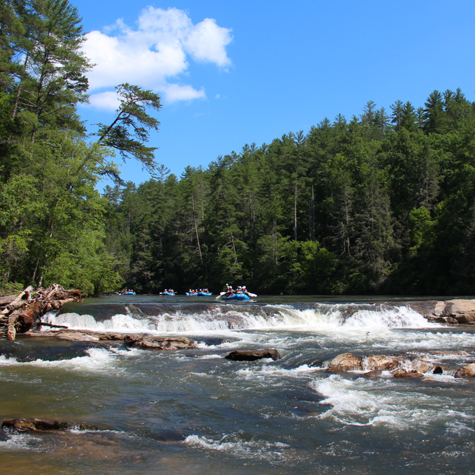 Chattooga River Camping and Rafting Experience