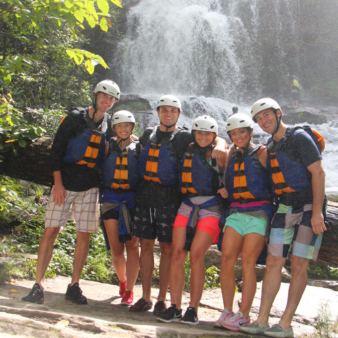 Advanced Whitewater Rafting in South Carolina