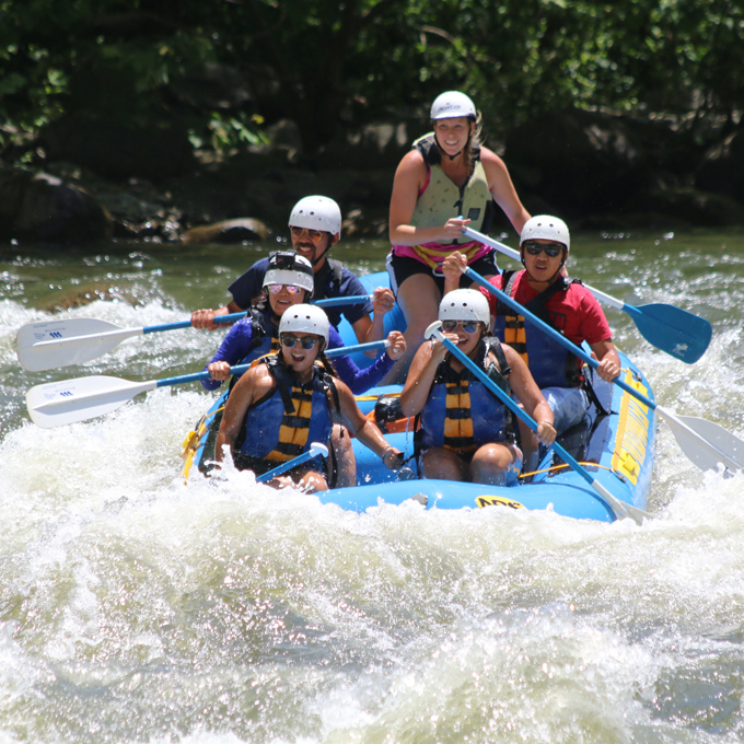 Upper Pigeon River Whitewater Rafting