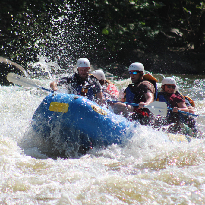 Class III and IV Rapids Upper Pigeon River