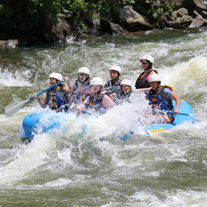 Whitewater Rafting Experience in Tennessee