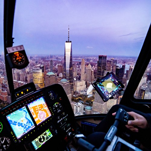 Romantic Helicopter Flight in New York City