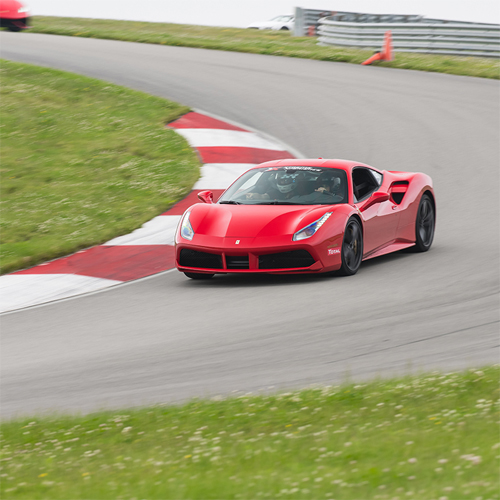 Race a Ferrari at Autobahn Country Club
