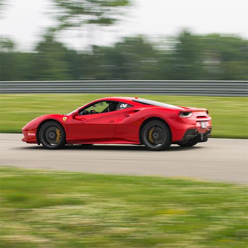 Race a Ferrari at Road America