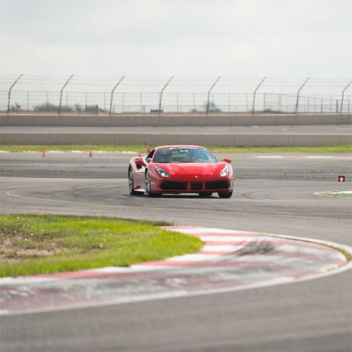 Race a Ferrari 488 GTB in Oklahoma
