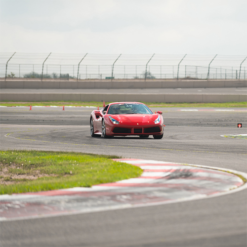 Race a Ferrari at a World-Class Race Course