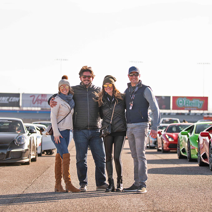 Exotic Car Racing Experience near LA