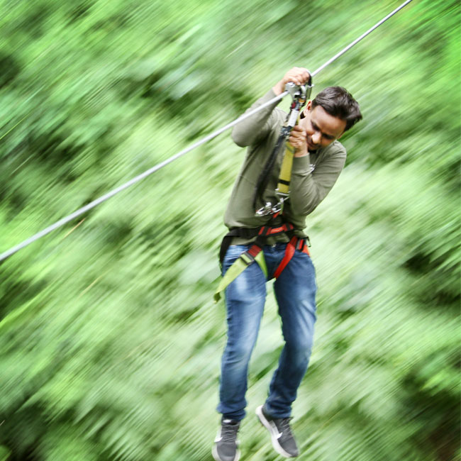 Portland Zipline Adventure Tour