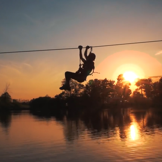 Zip over the Lake