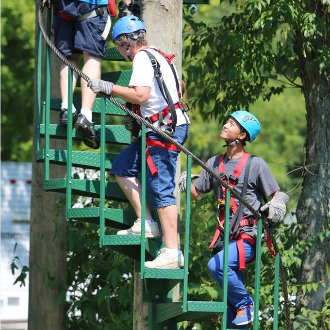 Zipline Adventure Course