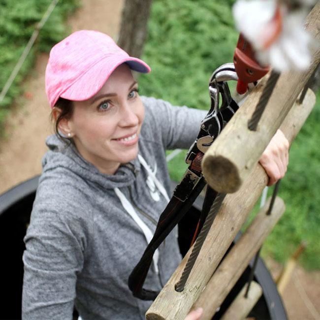 Adventure Canopy Tour near Portland