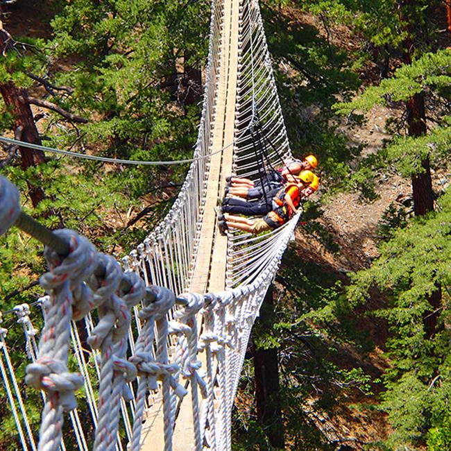 Treetop Adventure near Los Angeles