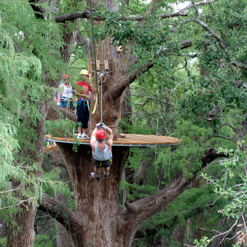 Zipline Canopy Tour in Spicewood