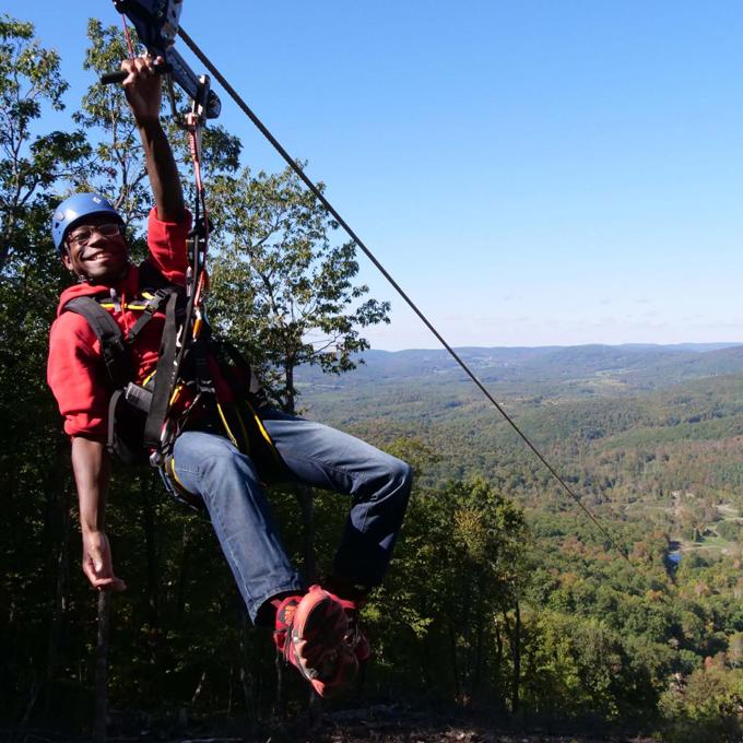 Ziplining Adventure in Egremont, MA