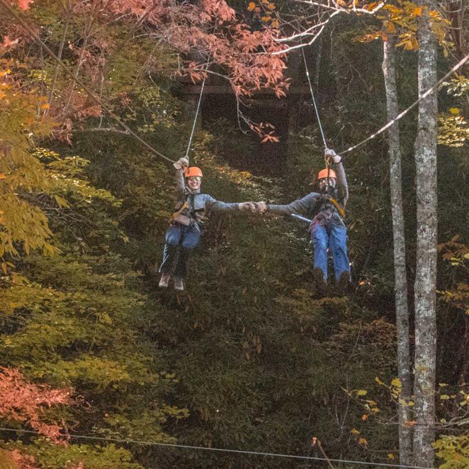 Ziplining Course in North Carolina