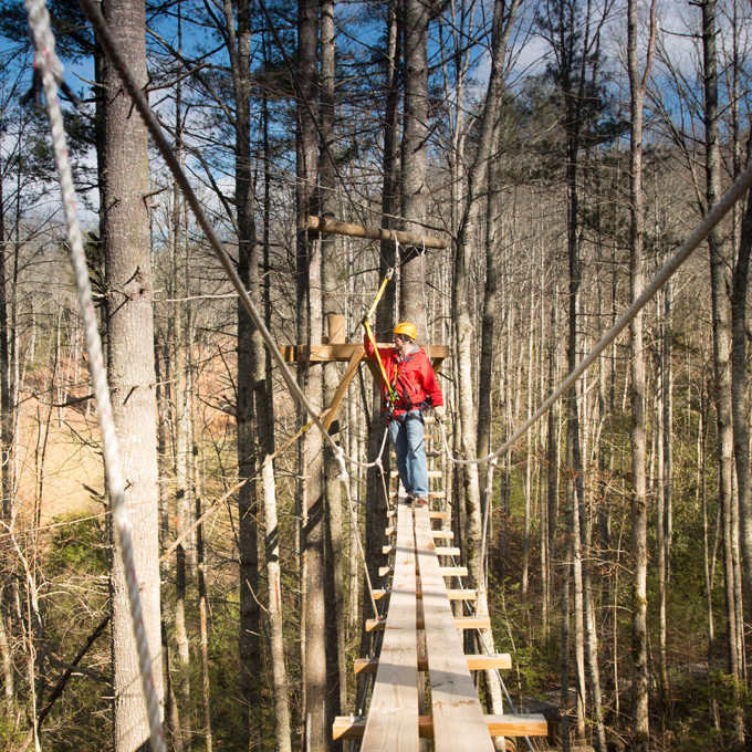 North Carolina Ziplining Experience