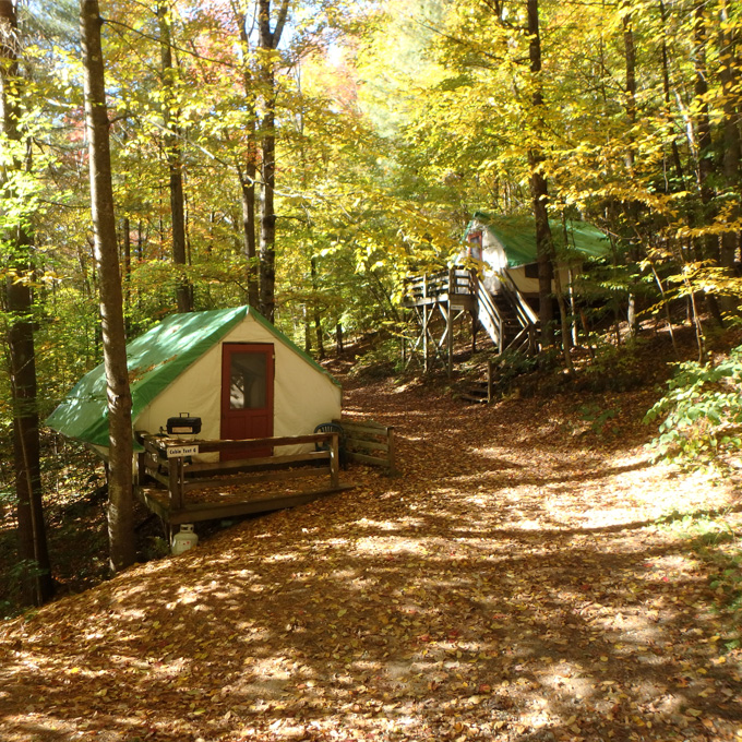 Overnight Cabin Tent
